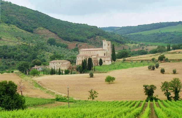 Tuscan Abbey