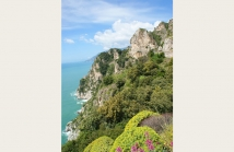 Cliffs on Amalfi Coast